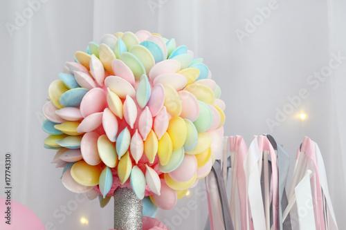 Fotografie, Obraz  Bouquet de bonbons