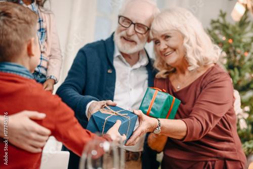 Zdjęcie XXL dziadkowie prezenty dla wnuka
