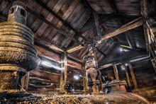 Abandoned Boiler Shed