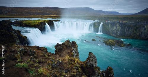 Zdjęcie XXL Godafoss w Islandii