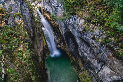 Plakat Wodospad Alpin Road