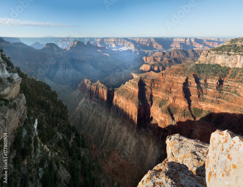 Tuinposter Canyon Cape Royal morning. North Rim Grand Canyon National Park Arizona, US