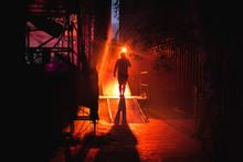 Backstage Light Atmosphere