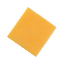 Top View Of A Square Gouda Che...