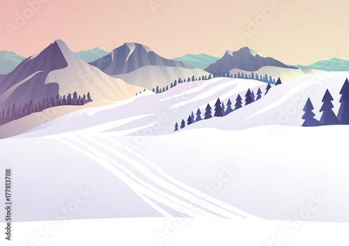 zimowy-pejzaz-w-gorach-slady