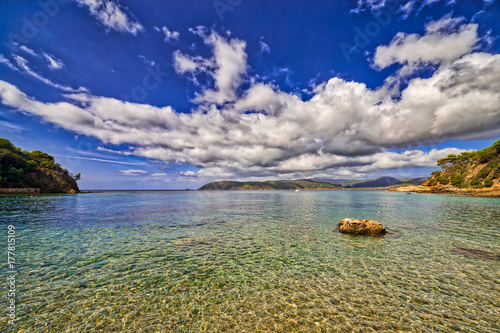 Fotografía  beach of Elba island