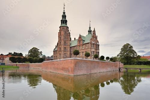 Rosenborg castle, Copenhagen, Denmark, September 2017 Poster