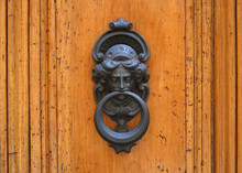 Antique Door Knocker, Rome, It...