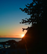 Island Sunset Contrast