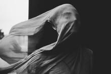 Ghostly Statue Like Portrait O...