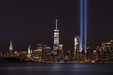 Freedom Tower On September 11th Memorial