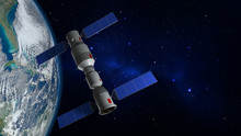 3D Model Of The Chinese Space ...