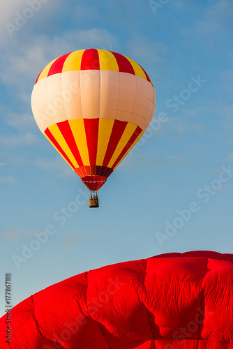 hot air balloon detail