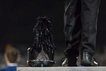 Shako At The Feet Of Drum Majo...
