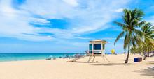 Paradise Beach At Fort Lauderd...