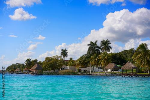 Fototapety, obrazy: Laguna de Bacalar Lagoon in Mayan Mexico