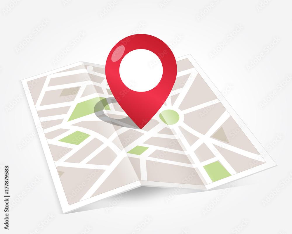 Fototapety, obrazy: Plan ville