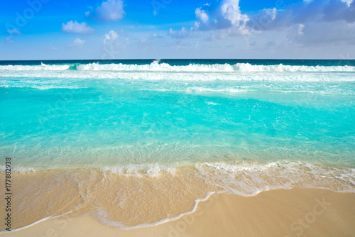 Cadres-photo bureau Caraibes Caribbean turquoise beach clean waters