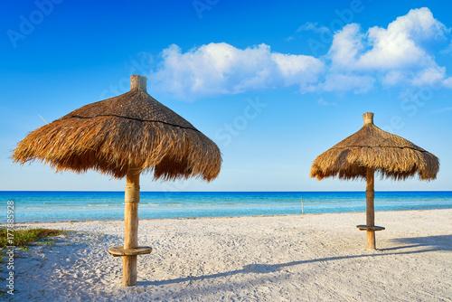 In de dag Egypte Holbox Island beach sunroof Mexico
