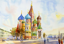 Cathedral Of St. Basil In The...