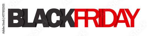 """Fotografia  """"BLACK FRIDAY"""" vector letters icon"""