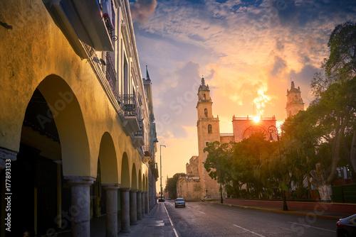 Cuadros en Lienzo  Merida San Idefonso cathedral Yucatan