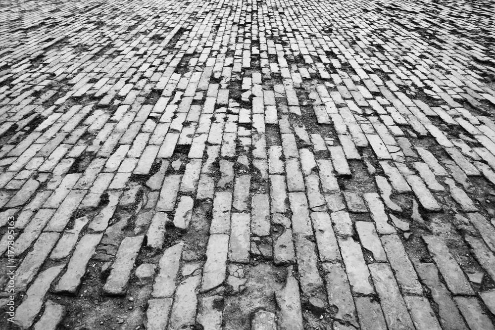 Fototapety, obrazy: Brick field - Forbidden City, Beijing, China