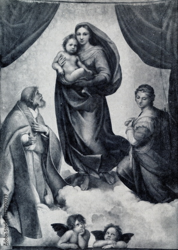 Photo  Sistine Madonna (Raphael, ca. 1513)