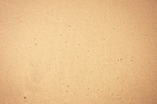 Wet Sand Texture With Little H...