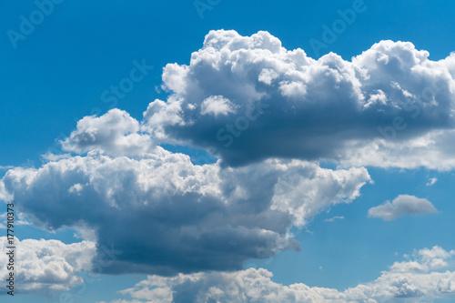 Plakat niebo chmury