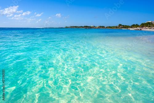 Cadres-photo bureau Caraibes Mahahual Caribbean beach in Costa Maya