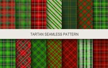 Christmas Tartan Seamless  Pat...