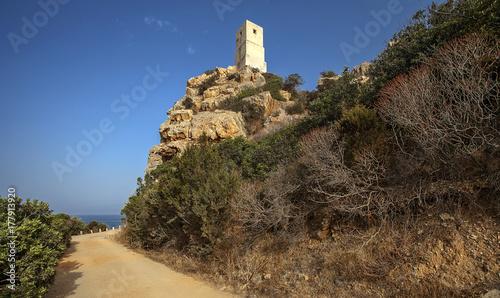 Fototapeta Torre Salinas, Costa Rei, Sardynia, Włochy