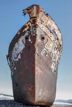 Shipwreck In Eussaria. Morocco