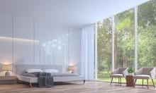 Modern White Bedroom Minimal S...