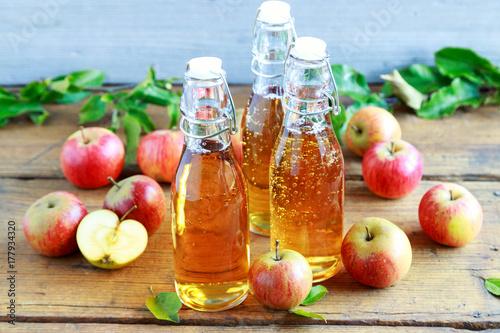 frischer Apfelsaft
