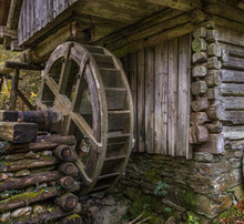 Historical Water Mill In Bavar...