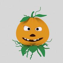 Bad Pumpkin   Isolate. Easy ...
