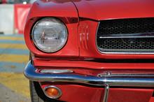 American Muscle Car. Head Ligh...