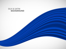 Abstract Vector Wave Silk Sati...
