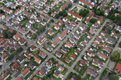 Zdjęcie XXL Widok z lotu ptaka dzielnicy mieszkalnej w Friedrichshafen na jeziorze Bodeńskim