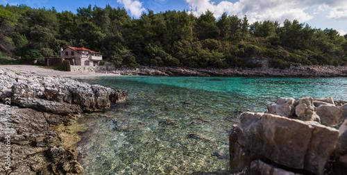 Valokuva  Shallow waters of Zavalatica Bay