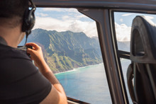 Napali Coast From A Helicopter...