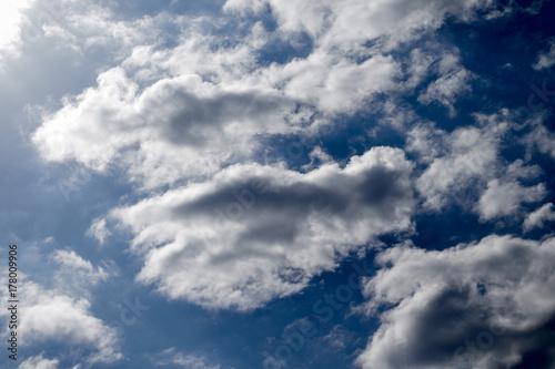 Zdjęcie XXL Ciemne chmury, niebo, zdjęcia pogodowe