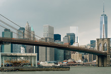 View Of The Brooklyn Bridge An...