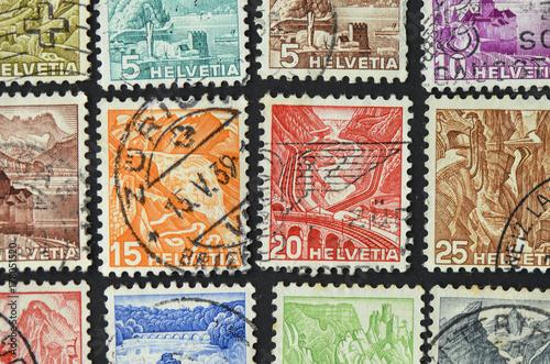 Valokuvatapetti Stamps 03