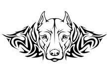 Pit Bull Terrier Tattoo