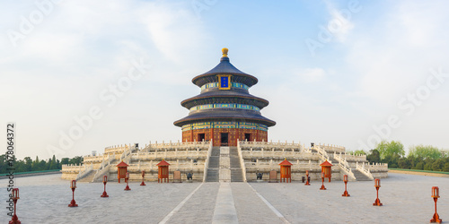 Spoed Foto op Canvas Beijing Temple of Heaven in Beijing capital city in China