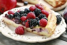 Piece Of Fruit Tart