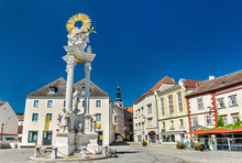 Holy Trinity Column In Krems A...